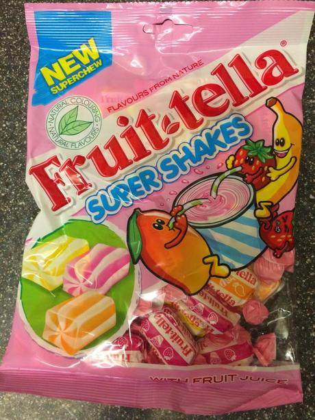 Today's Review Fruittella Super Shakes