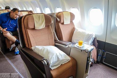 Flight Review: Philippine Airlines Business Class (Bangkok-Manila)