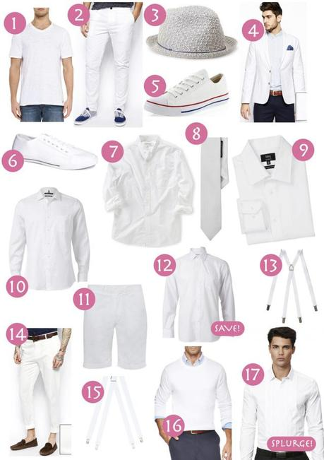 Diner en Blanc men's shopping guide