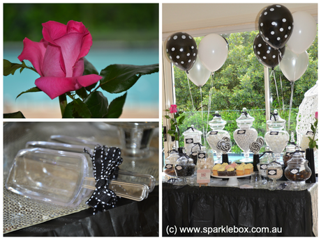 Elegant Black & White Party