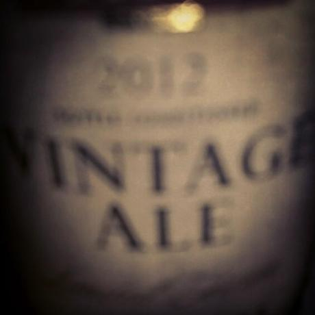 Bit blurry, #craftbeer #beertography #fullers #oldale #bottleshare #beerporn #vintage