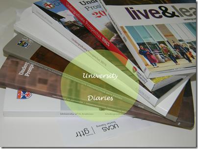 University Diaries Header