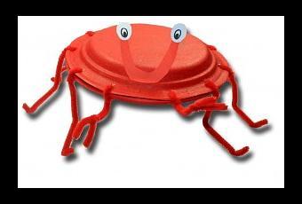 sc 1 st  Paperblog & Paper Plate Crab - Paperblog