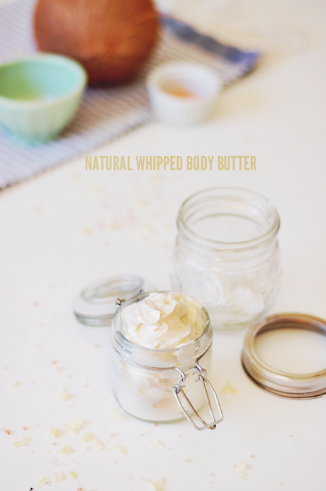 Natural DIY Whipped Body Butter