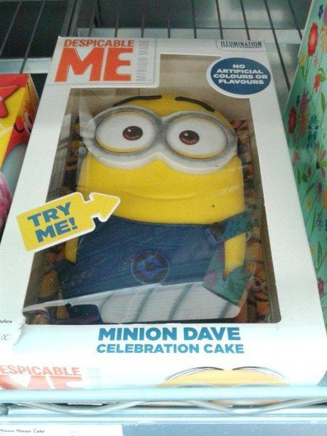 Despicable Me Birthday Cake Tesco