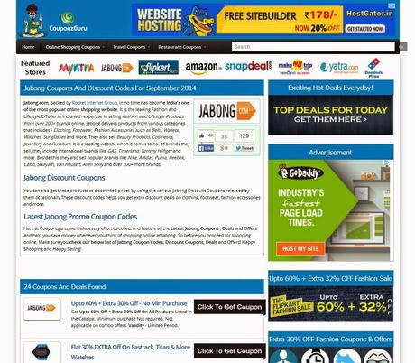 Couponzguru.Com : A Coupon and Deals Website You Must Check out