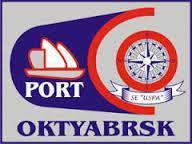 Oktyabrsk port logo