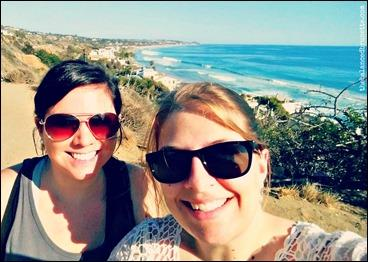 Los Angeles Beach Leo Carillo Best Friends Selfie