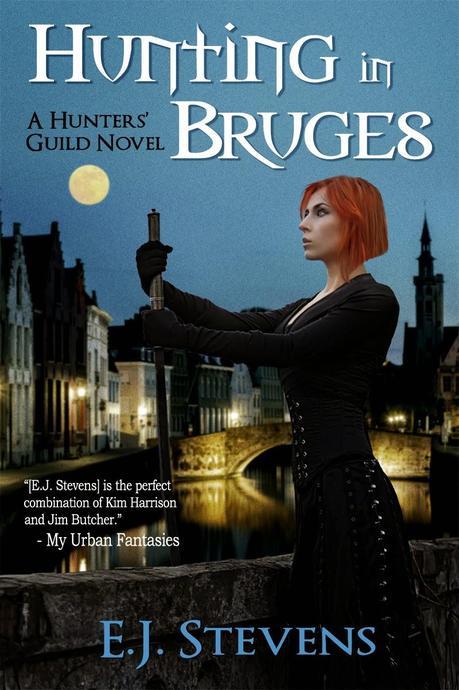 Hunting in Bruges by EJ Stevens: Cover Reveal