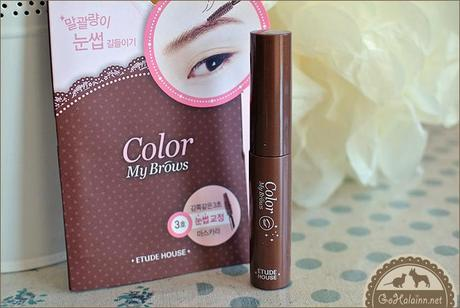 Review: Etude House Color My Brows #3 Red Brown
