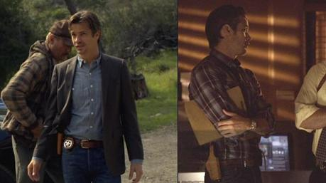 The Bianchi hip holster is a respectable choice for a pro like Raylan.