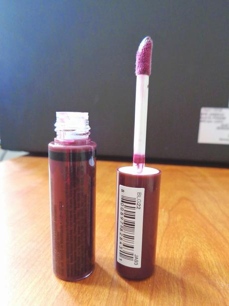 Fall Colors: NYX Butter Gloss in Devil's Food Cake