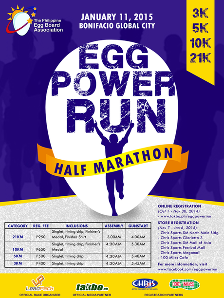 Run With Your Egg at Egg Power Run