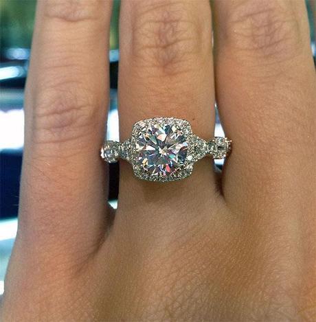 Verragio DL-109CU-GL 0.60ctw Parisian Diamond Engagement Ring Mounting