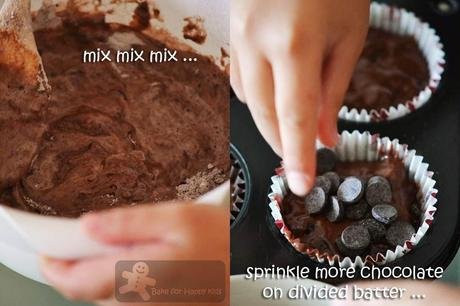 Chocolate Chocolate Chip Muffins (Nigella Lawson)