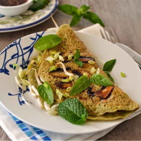 how to cook rice paper pancakes
