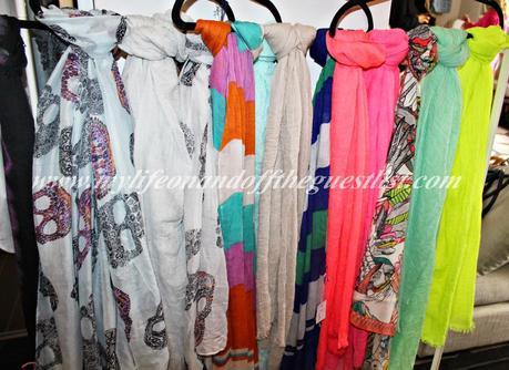 Pepette.......Happiness is Shopping their Fall Scarves