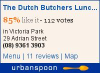 The Dutch Butchers Lunch Bar & Cafe on Urbanspoon