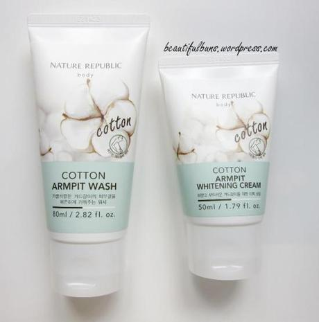 Nature Republic Cotton Armpit Kit (2)