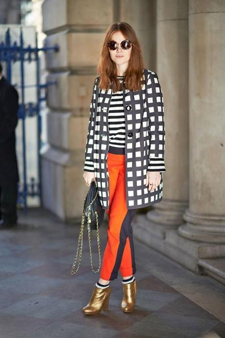 black-and-white-coat-gold-boots