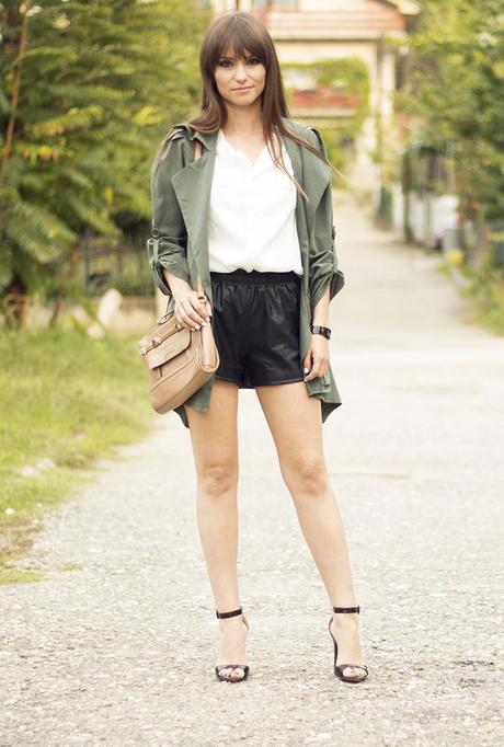Military trench coat