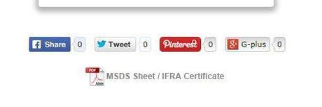IFRA certificate link
