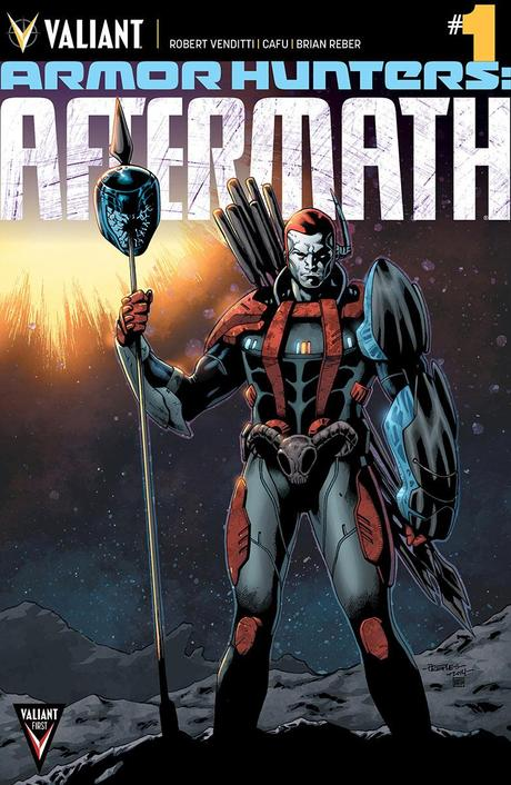 Valiant Previews: ARMOR HUNTERS | BLOODSHOT