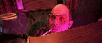 Depp as Hunter S. Thompson (alysonwonder.tumblr.com)