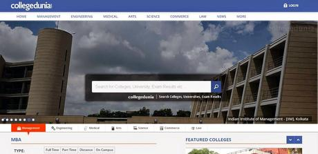 Collegedunia.com - the perfect website to find top Colleges & Institutes in India