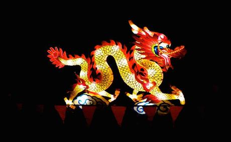 Chinese_dragon, Lantern Festival in Christchurch, New Zealand