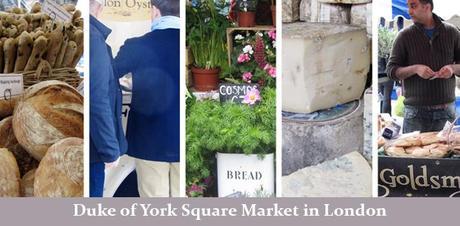 Duke of York Square Farmers market London
