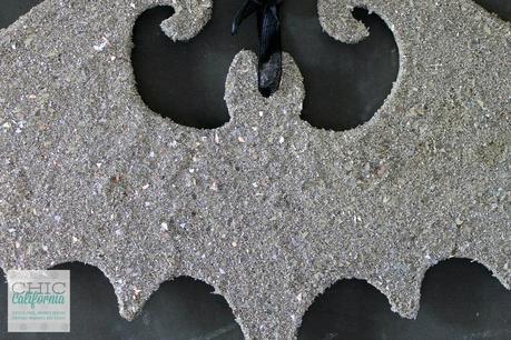Glass Glitter Bat by Chic California