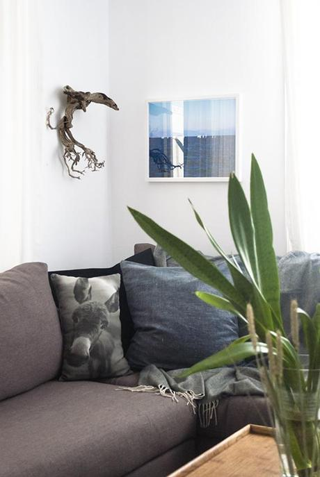 New deep blue sea print by Mess Project on my wall | My Paradissi