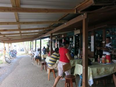 The main market in Belmopan, Belize.