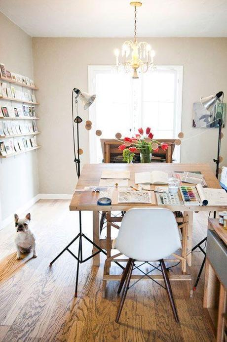 great workspace / desk