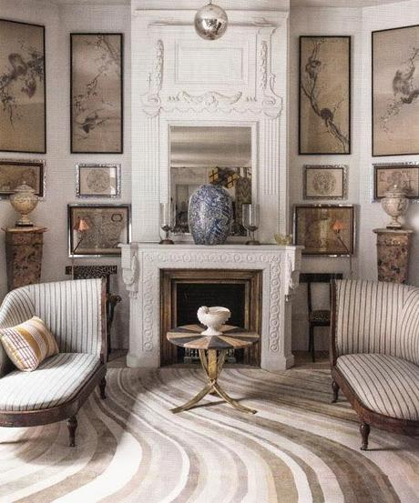 beige cream white fireplace traditional living room