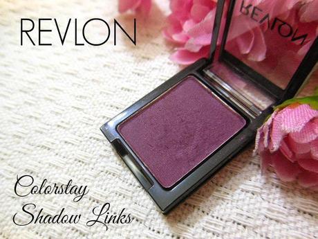 Revlon Colorstay Shadow Links Eye Shadow Plum : Review, Swatch, EOTD