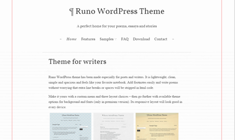 Amazing free WordPress themes for Writers and Poets