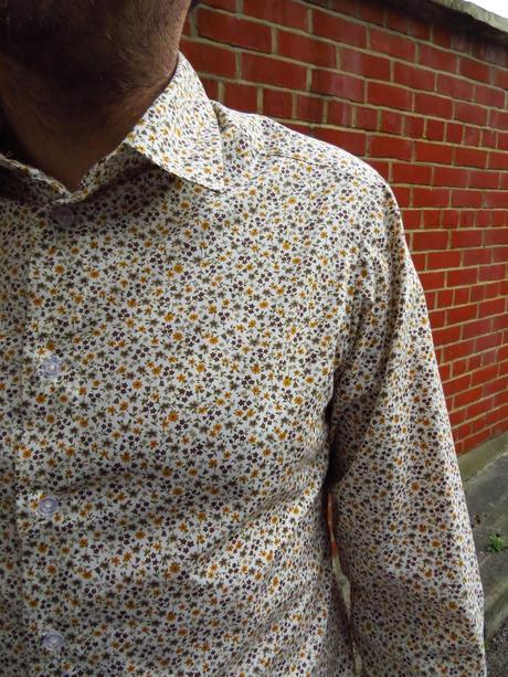 Sewing for the man. Burda 7045 shirt.