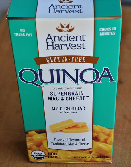 Ancient Harvest Quinoa Mac and Cheese Review