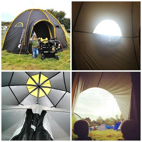 Happy Camping with the POD Tent Maxi