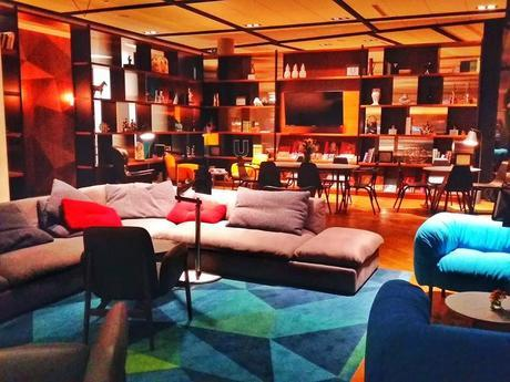 I loved the lobby of the newly opened PURO Hotel in Poznan - chic and comfortable AND close to the Old Market Square.
