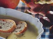 Apple Chestnut Soup.