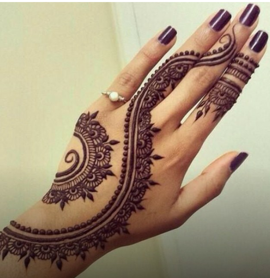 Mehndi Step By Step Tutorial : Henna designs for beginners step by joy studio