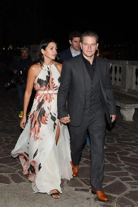 matt damon anna wintour george alma dinner wedding spl 2 mens fashion