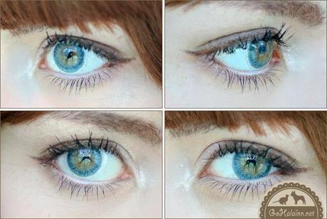 Review: GEO Geolica Euro Celine Blue Circle Lenses