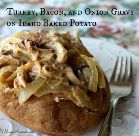 Turkey, Bacon, and Onion Gravy