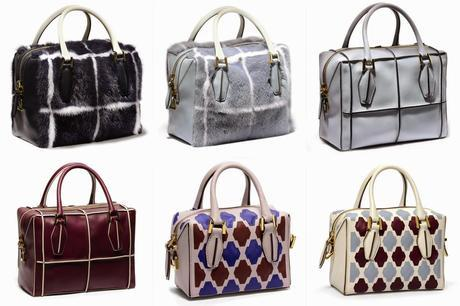 First Look: Tod's D-Cube A/W 14 Collection