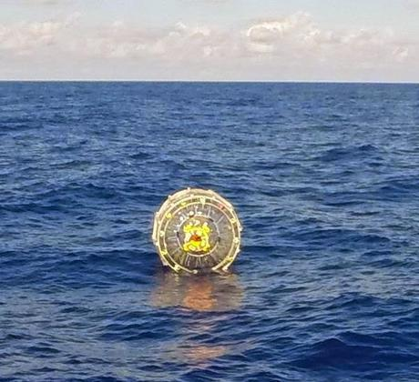 """Coast Guard rescues man in Atlantic Ocean trying to """"run"""" to Bermuda in an inflatable bubble"""