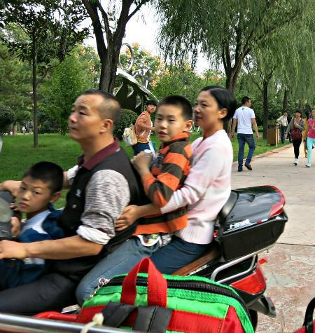 Scooters in China   Mint Mocha Musings